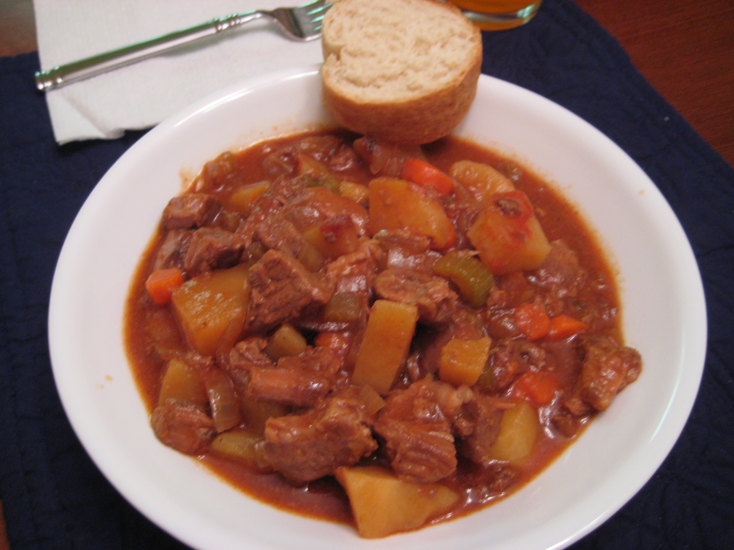 Watch Seafood, Chorizo and Vegetable Stew video