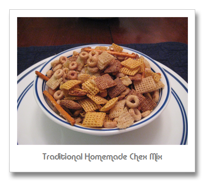 Traditional Homemade Chex Mix