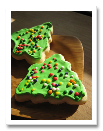 Cut-Out Sugar Cookies with Royal Icing