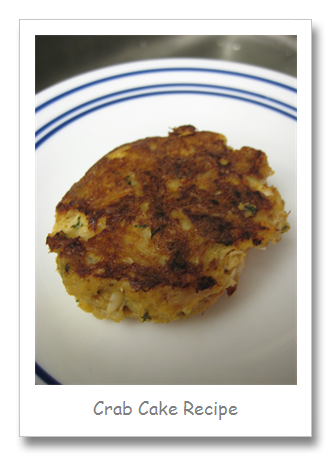 My Favorite Crab Cake Recipe