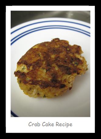 My Favorite Crab Cake Recipe